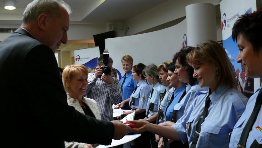 Ocenění nejlepších policistek v MSK